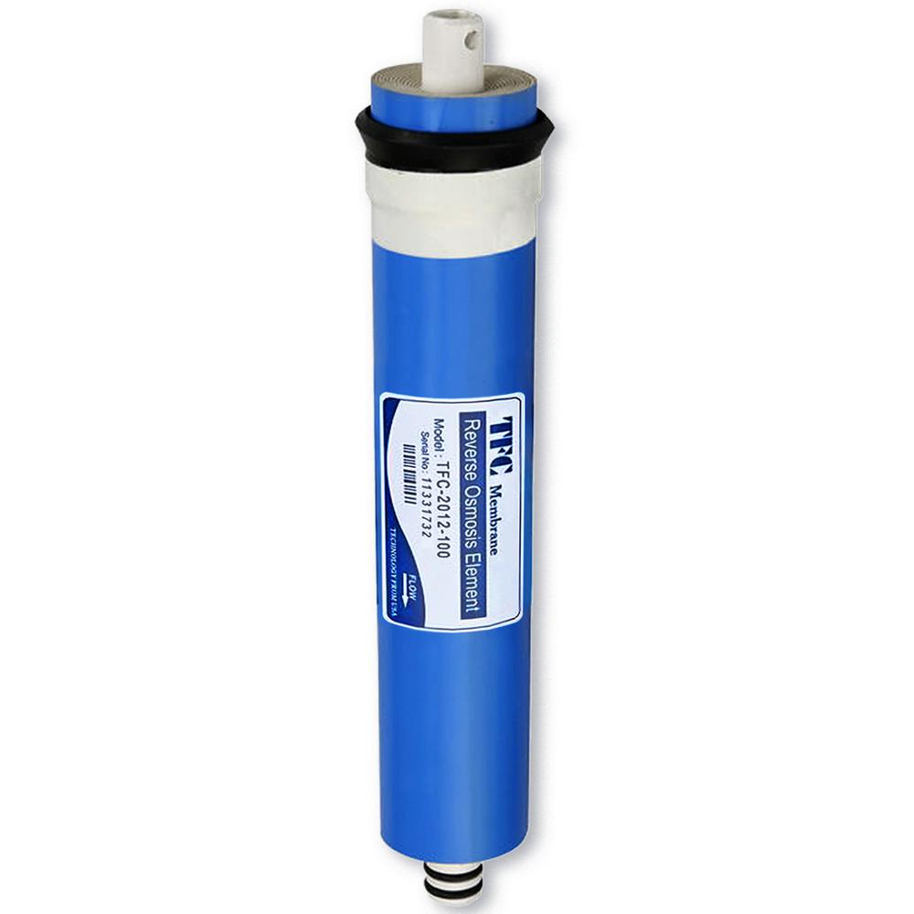 "1.8"" x 12"" 100GPD Water Filter Replacement Cartridge Reverse Osmosis Membrane"