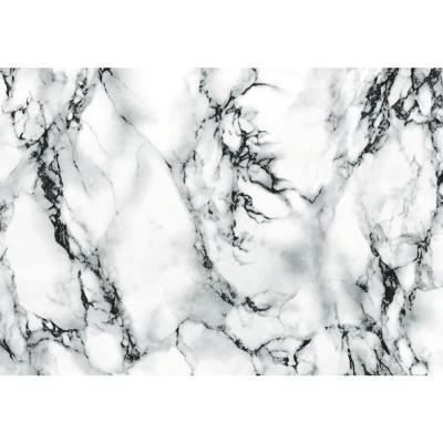 26 in. x 78 in. Marble White Self Adhesive Vinyl Film for Countertops, Cabinets and Other Furniture Items