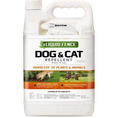 1 gal. Ready-to-Use Concentrate Dog and Cat Repellent Sprayer
