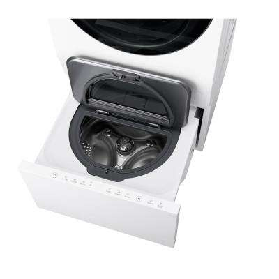 24 in. 0.7 cu. ft. Sidekick Pedestal Washer with TWINWash System Compatibility in White