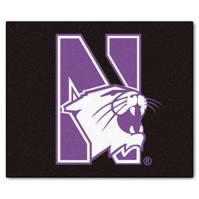 Northwestern University 5 ft. x 6 ft. Tailgater Rug