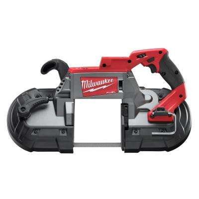 M18 FUEL 18-Volt Cordless Brushless Lithium-Ion Deep Cut Band Saw (Tool-Only)