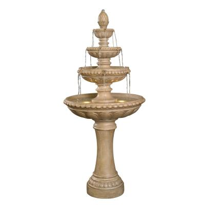 Turner Resin Outdoor Tiered Fountain