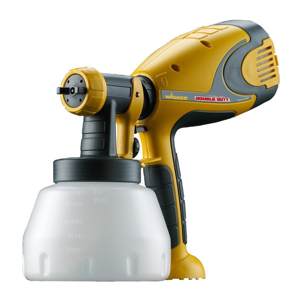 Wagner Control Spray Double Duty HVLP Paint Sprayer - DISCONTINUED