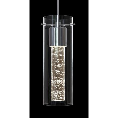 Essence 7.5-Watt Chrome Integrated LED Pendant