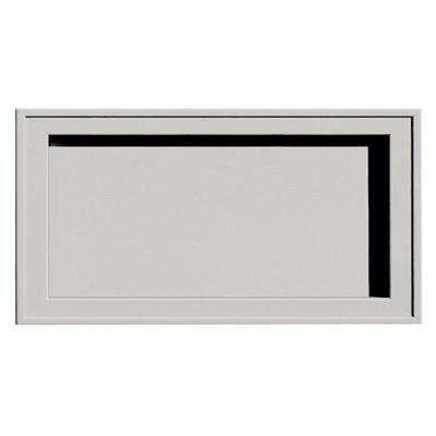7.5 in. x 14.25 in. # 030 Paintable Recessed Jumbo Universal Mounting Block