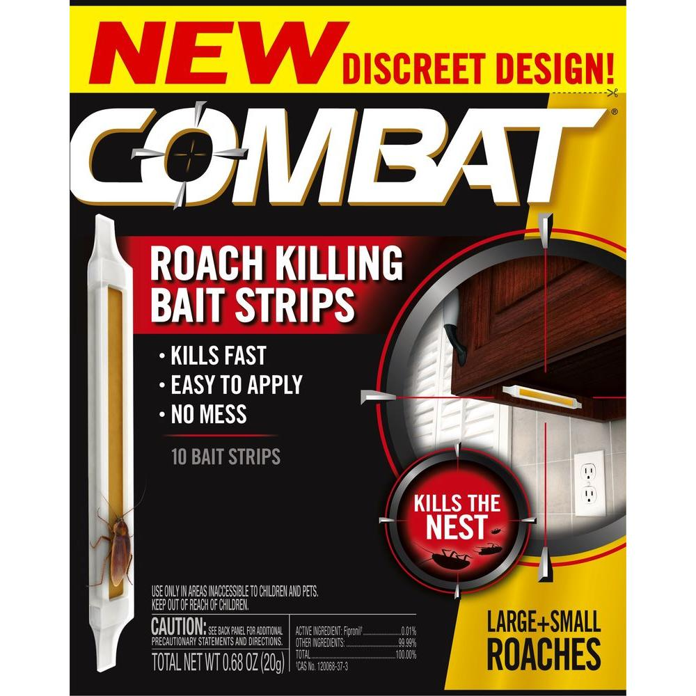 COMBAT Roach Killing Bait Strips-2340000973 - The Home Depot