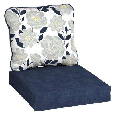 Floral Outdoor Chair Cushions Outdoor Cushions The Home Depot