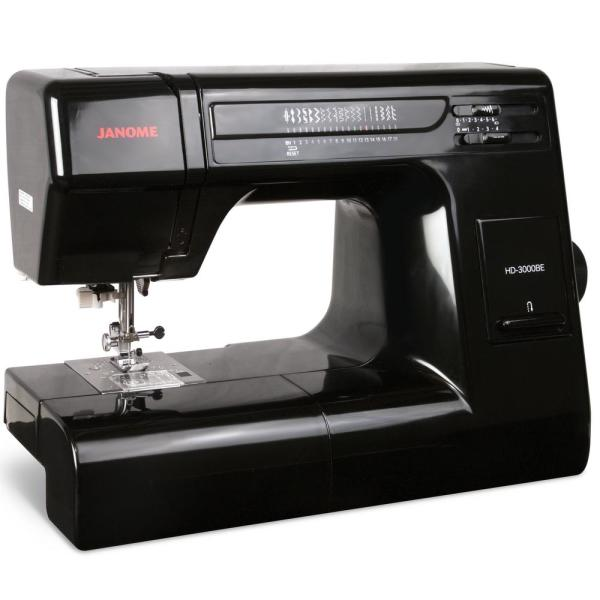 Janome HD3000BE 18-Sch Sewing Machine with Quilt Kit ... on