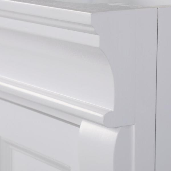 Home Decorators Collection Naples 30 In W X 21 75 In D Bath Vanity Cabinet In White Nawa3021d The Home Depot