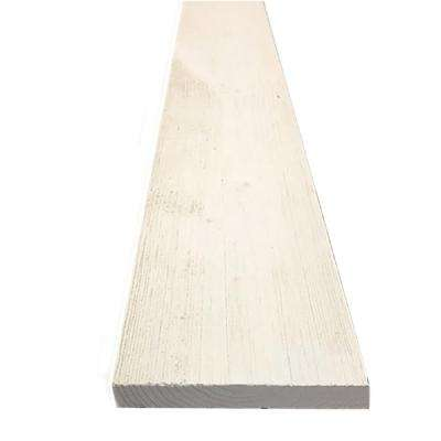 1 in. x 4 in. x 8 ft. Barn Wood White Pine Trim Board (6-Piece Per Box)