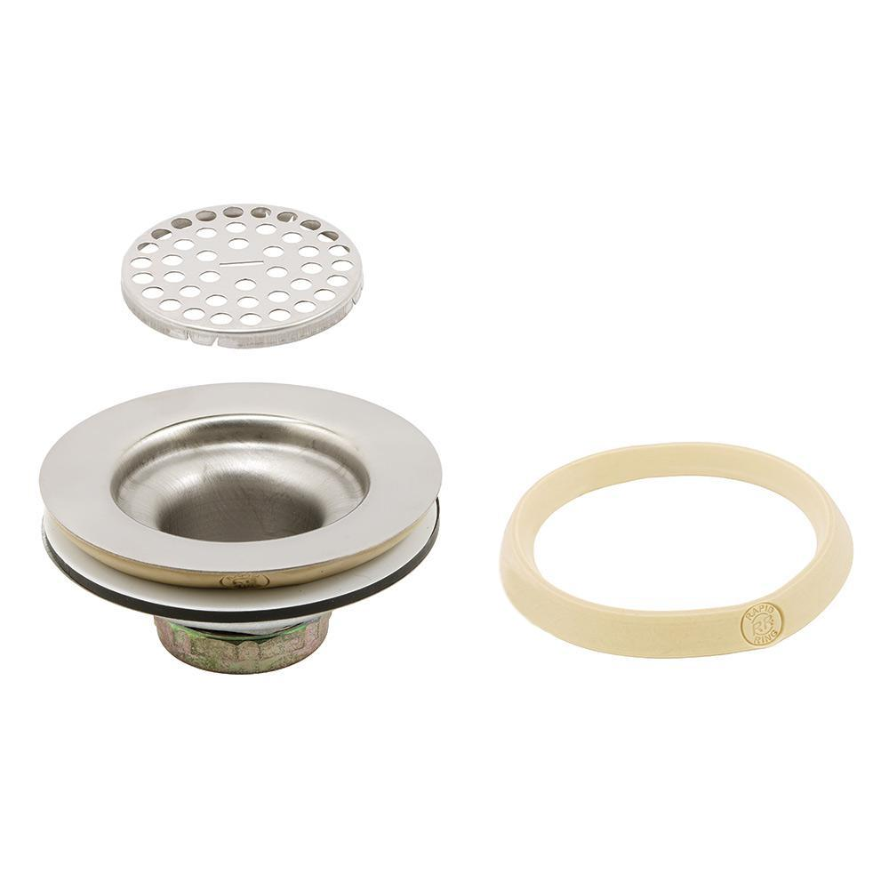 Basket Strainer with Grid Wide Flange 3-1/2 in. to 4 in.