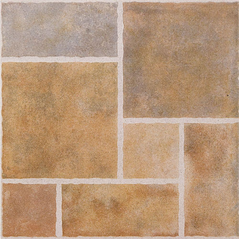 Megatrade Patio Paver 18 In. X 18 In. Ceramic Floor And Wall Tile (