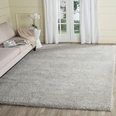 Ultimate Shag Silver 8 ft. x 10 ft. Area Rug