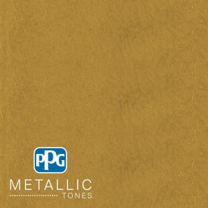 Ppg Metallic Tones 1 Gal Mtl137 Gilded Gold Metallic Interior Specialty Finish Paint Mtl137 01 The Home Depot