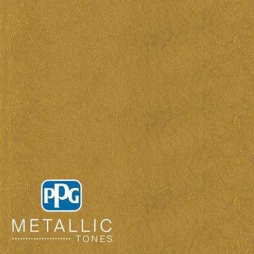 1 qt.#MTL137 Gilded Gold Metallic Interior Specialty Finish Paint