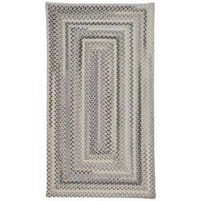 Tooele Grey 9 ft. 2 in. x 13 ft. 2 in. Concentric Area Rug