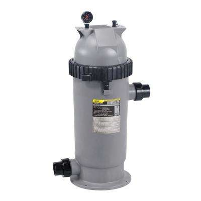 CS Series 150 sq. ft. 2 x 2.5 in. Unions Pool Cartridge Filter