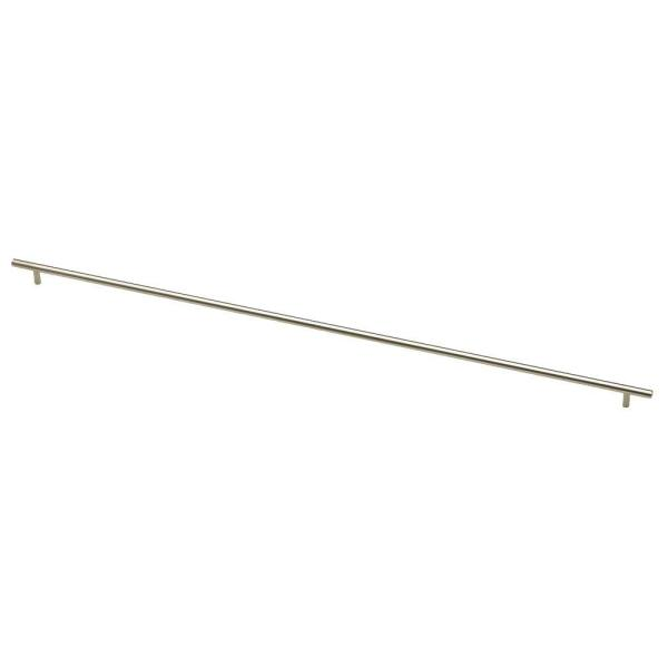34 in. (864mm) Center-to-Center Stainless Steel Bar Drawer Pull