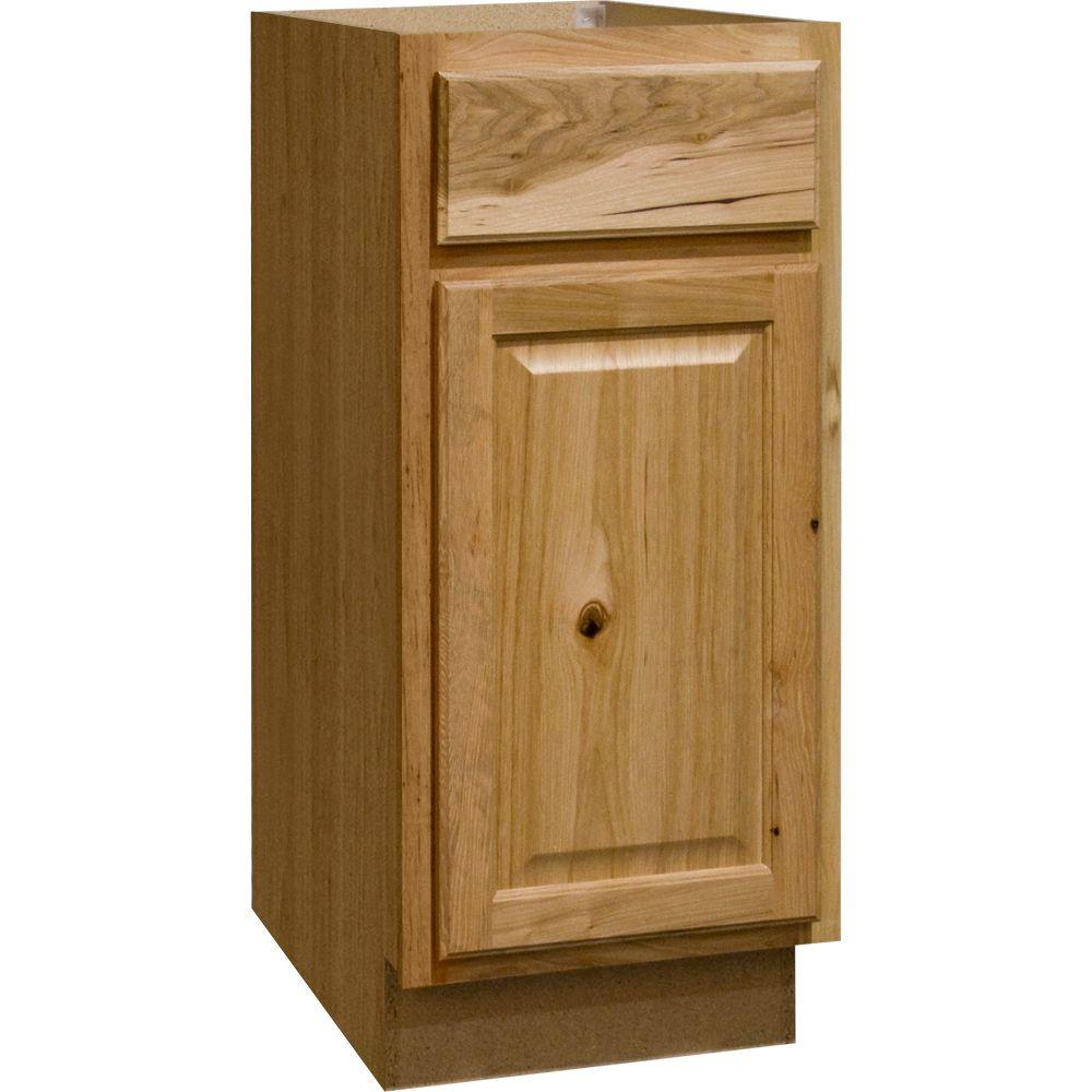Hampton Assembled 15x34.5x24 in. Base Kitchen Cabinet with Ball-Bearing Drawer
