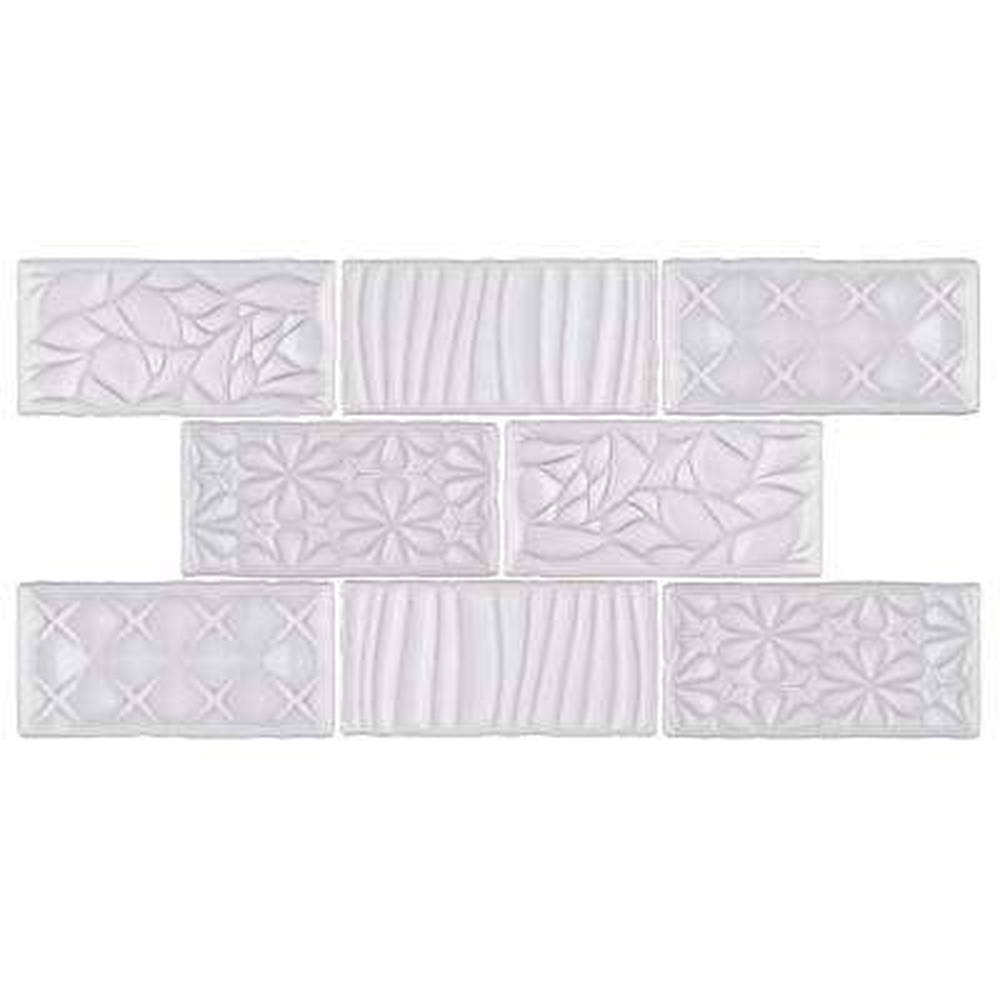 Antic Sensations Milk 3 in. x 6 in. Ceramic Wall Subway Tile (1 sq. ft. / pack)