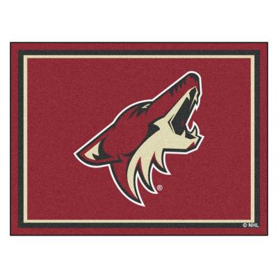 NHL Phoenix Coyotes Red 8 ft. x 10 ft. Indoor Area Rug