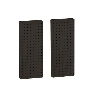 20.625 in H x 8 in W Pegboard Black Styrene One Sided Panel (2-Pieces per Box)
