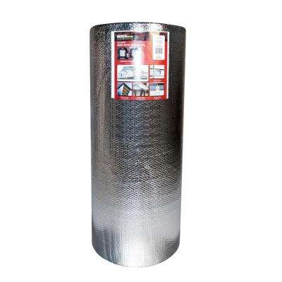 4 ft. x 100 ft. Double Reflective Insulation Air Roll with Double Bubble