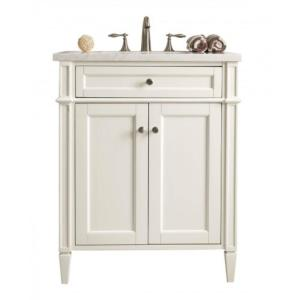 James Martin Signature Vanities New Brittany 30 inch W Single in Vanity Cottage White with... by James Martin Signature Vanities
