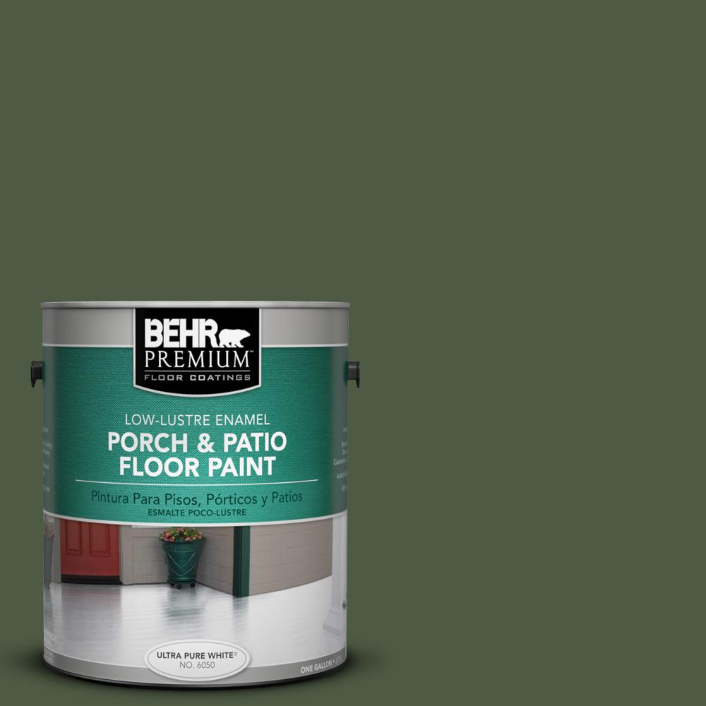 1 gal. #420F-7 Forest Ridge Low-Lustre Porch and Patio Floor Paint