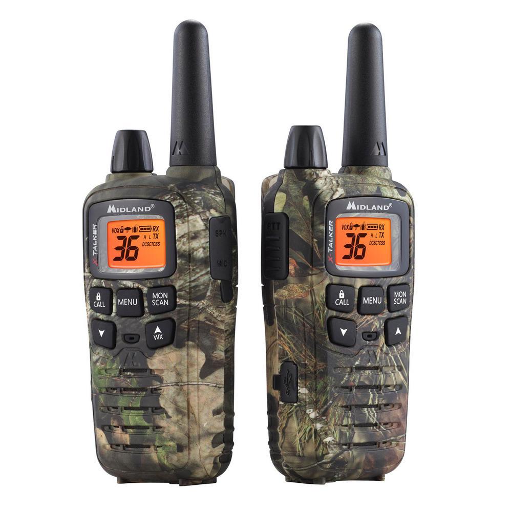Midland Mossy Oak X Talker 32 Mile 2 Way Radios With