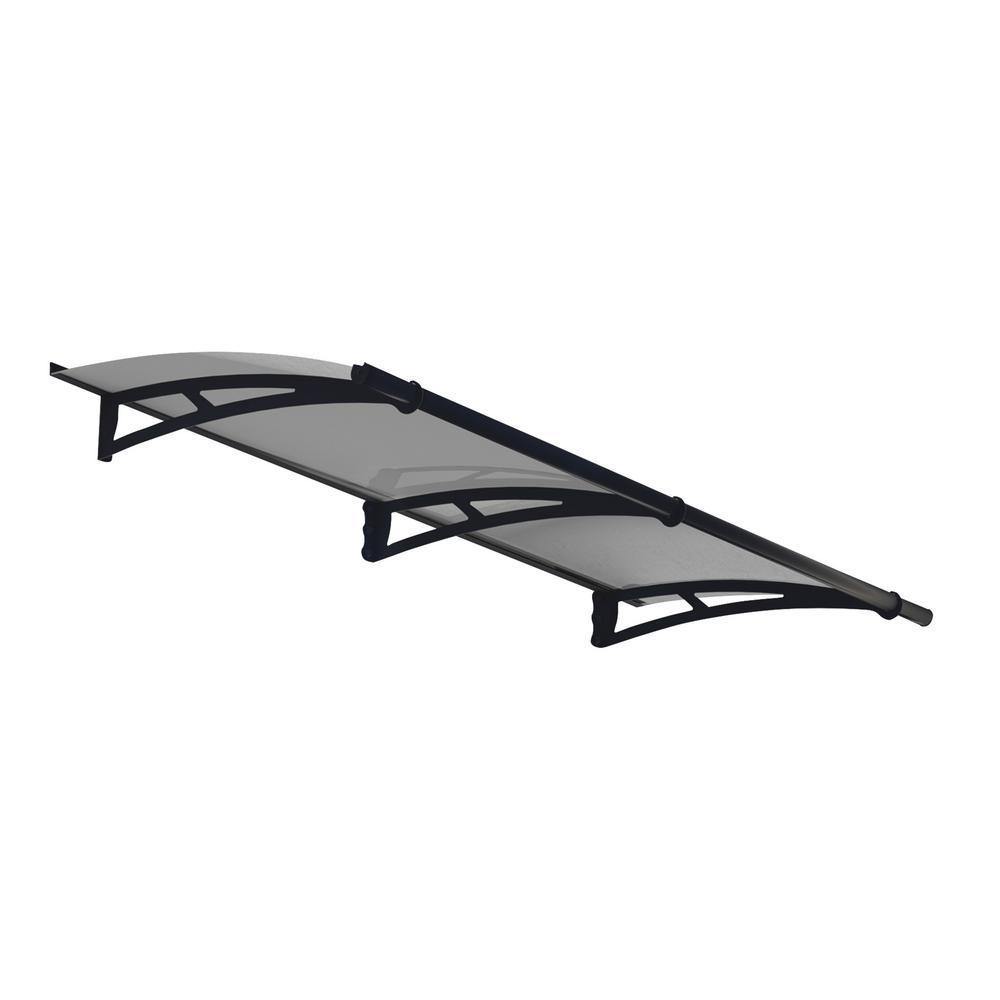 Aquila 2050 6 ft. 9 in. Solar Gray Door Canopy Awning