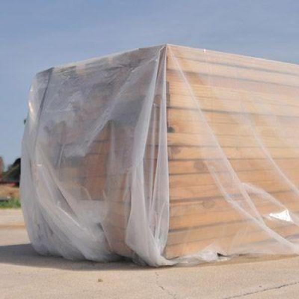 Husky 10 Ft X 50 Ft Clear 4 Mil Plastic Sheeting Cf0410 50c The Home Depot