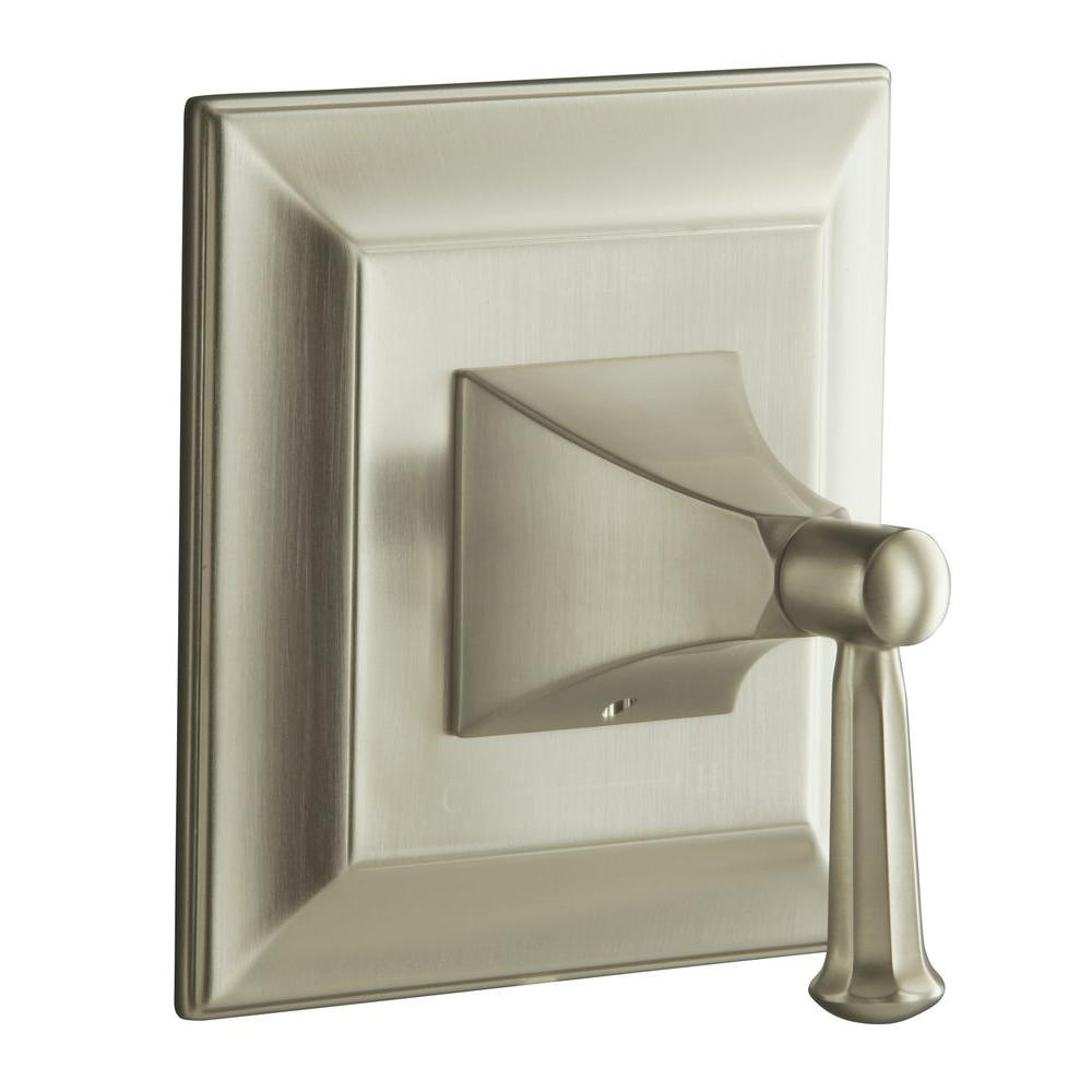 KOHLER Memoirs 1-Handle Stately Thermostatic Valve Trim Kit in Vibrant Brushed Nickel - Lever Handle (Valve Not Included)
