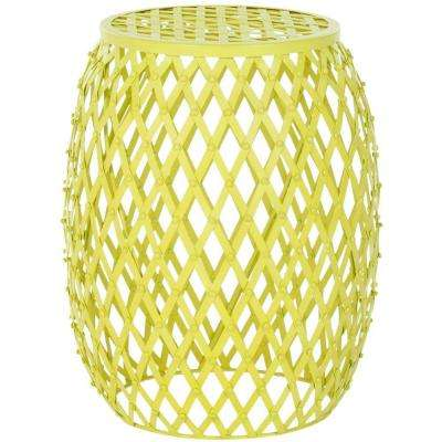 Evan Matte Yellow End Table