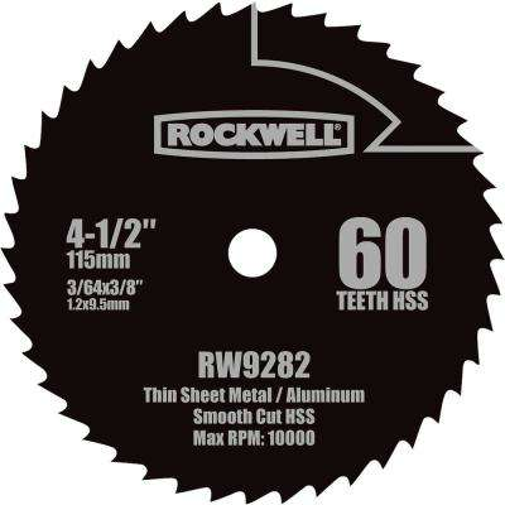 4-1/2 in. HSS Compact Circular Saw Blade