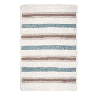 Promenade II 10 ft. x 13 ft. Sand Braided Rectangle Area Rug