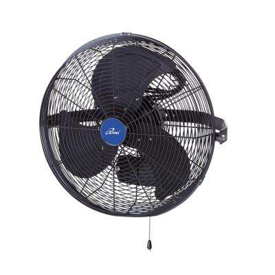 14 in. 3 Speed Wall Mount Outdoor Waterproof Fan