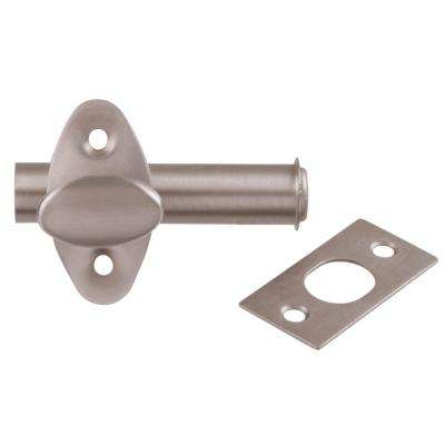 Satin Nickel Door Mortise Bolt