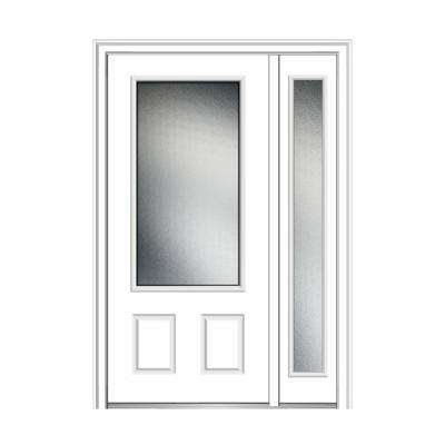 48 in. x 80 in. Micro Granite Right-Hand 3/4-  sc 1 st  The Home Depot & 48 - Exterior Doors - Doors u0026 Windows - The Home Depot