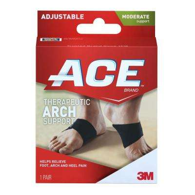 Adjustable Arch Support Brace in Black