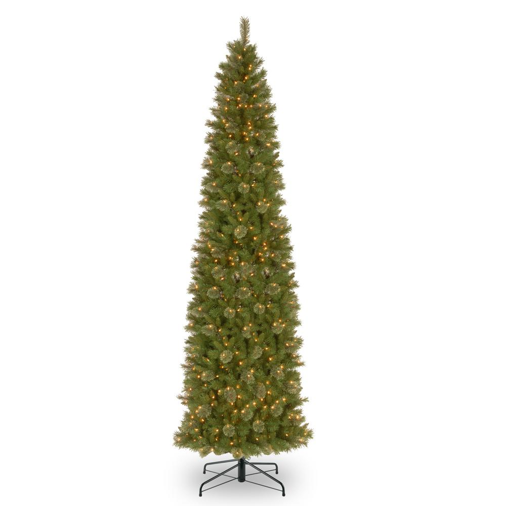 10 Ft Slim Christmas Tree