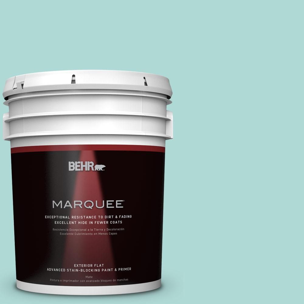 BEHR MARQUEE 5-gal. #M450-3 Wave Top Flat Exterior Paint