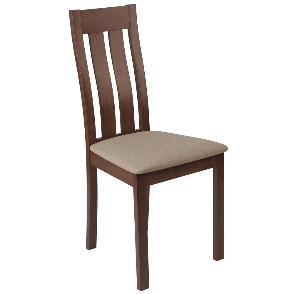 Flash Furniture Milton Walnut Side Chair