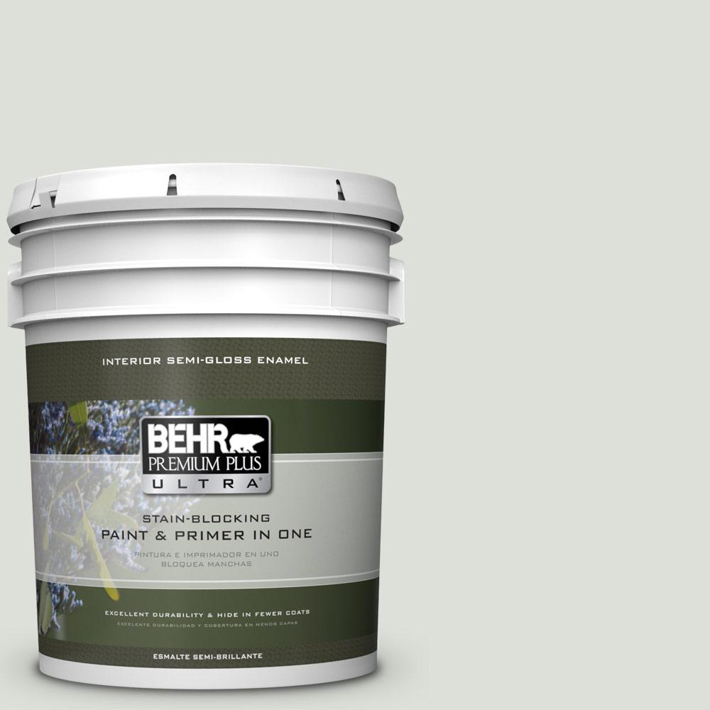 5 gal. #PPU25-11 Salt Cellar Semi-Gloss Enamel Interior Paint