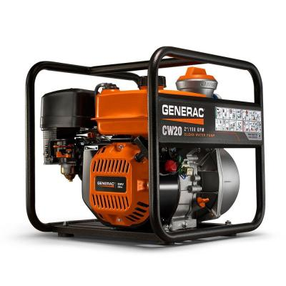5 HP 2 in. Gas Powered Clean Water Pump