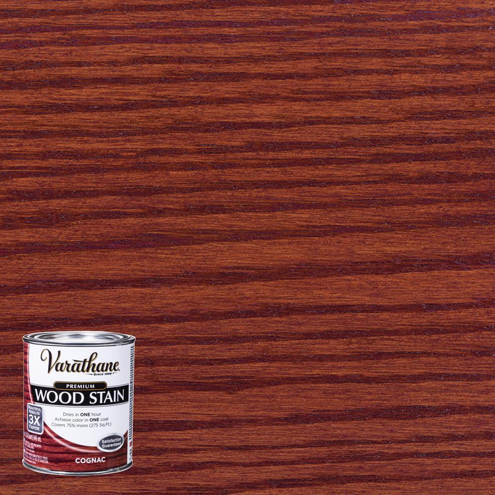 1 qt. Cognac Premium Fast Dry Interior Wood Stain