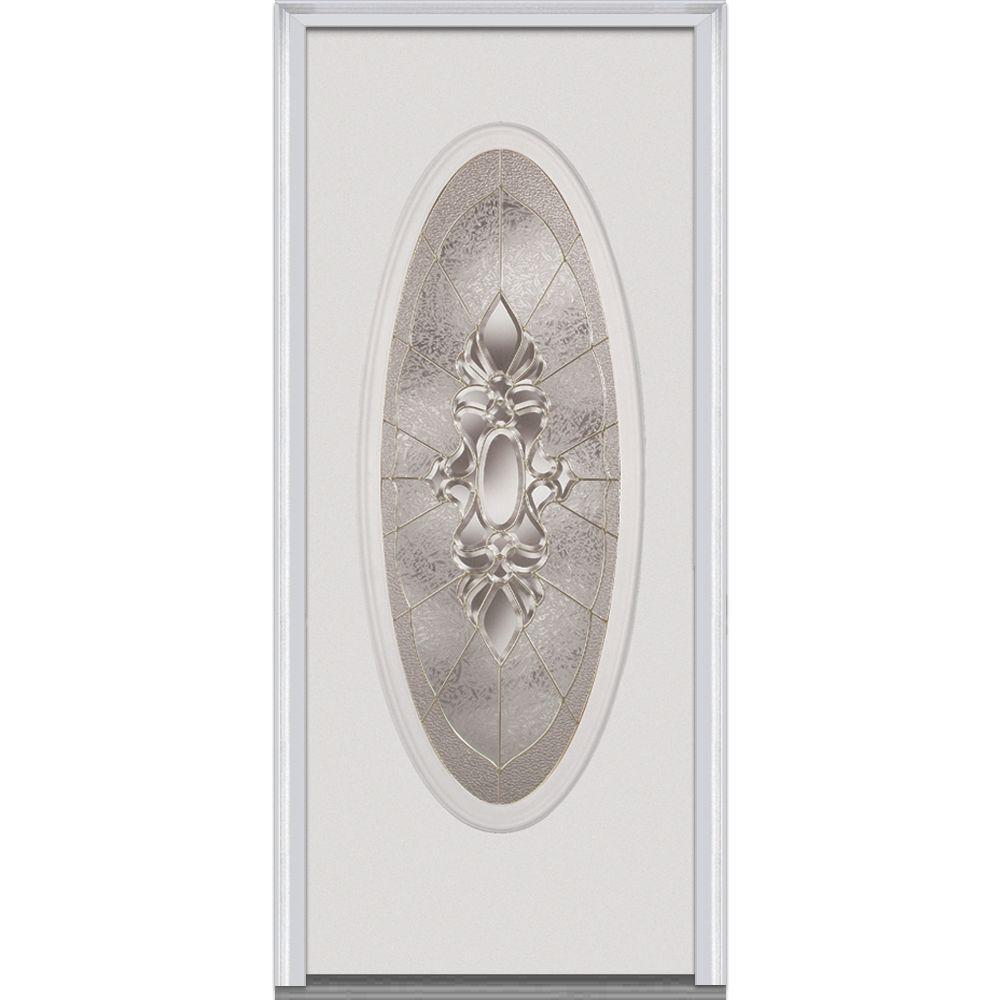 32 in. x 80 in. Heirloom Master Left-Hand Large Oval Classic