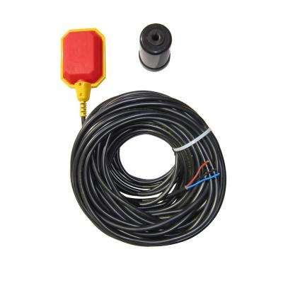 Longest Cord Float Switch on the Market (100 Ft Cable), Water Tanks, Sump Pumps, Septic Systems