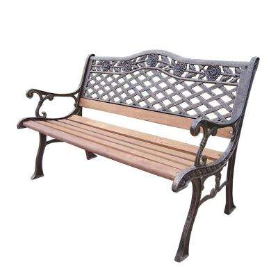 Sensational Rustic Weather Resistant Outdoor Benches Patio Chairs Bralicious Painted Fabric Chair Ideas Braliciousco